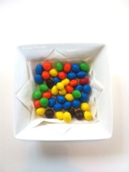 ~ M&M a great anytime snack. ~