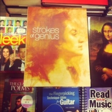 ~ Strokes of Genius is a lovely book on sketches which has been added to my coffee table collection. ~