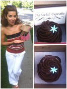 ~ My delicious & Free Chocolate Cupcake from The Social Cupcake. ~