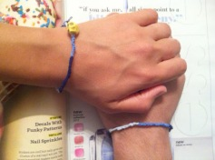 ~ Friendship bracelets. ~
