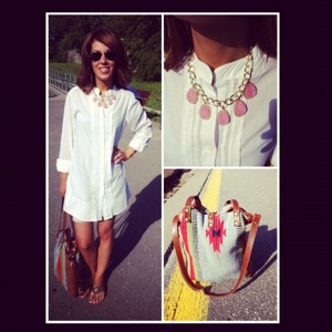~ Just received my beautiful The Chiq Jewelry necklace last night and was excited to wear it. ~