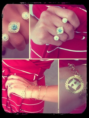 ~ Perfect way to end the work week with gold accessories ~