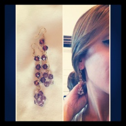~ Gifted earrings I received from a reader ~