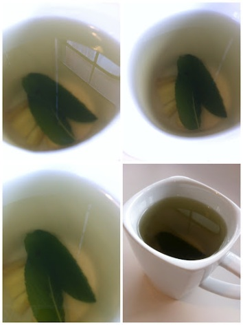 ~ Fresh ginger & mint tea, my current afternoon delight ~