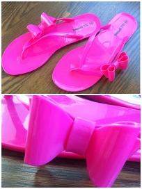~ New jelly beck flip flops ~