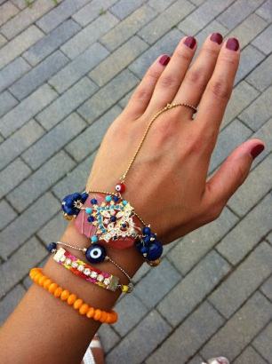 ~ My hand adorned with Emidesh pieces ~
