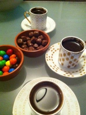 ~ Turkish coffee & chocolate treats ~