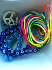 ~ New beads & string, will reveal soon what becomes of them ~