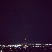 ~ Red moon... The picture cant capture how beautiful this was to see ~