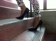 ~ Rediscovering what I already own... Finally took these heels out for a walk ~