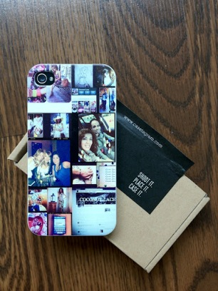 ~ Hubby suprised me with this customized phone case from Casetegram. Its pictures i shared on instagram including my first blog post. Love it! ~