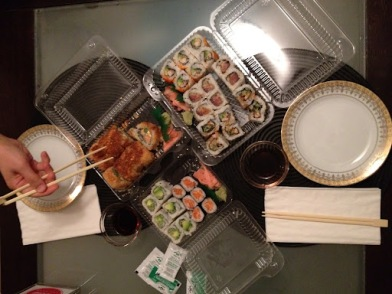 ~ Sushi night at my sisters is always a great way to spend time and catch up ~