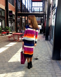~ My favourite sweater dress, Prefect for this lovely fall weather ~