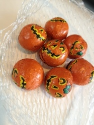 ~ Miniature chocolates all dressed up for Halloween ~