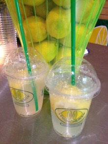 ~ Fresh lemon juice always a delicious treat ~
