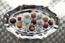 ~ Made truffles that were simple and delicious ~