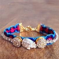 Emidesh embellished friendship bracelet