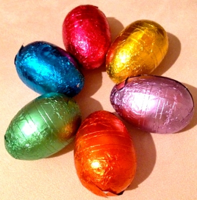 ~ Chocolate Easter eggs can only mean spring is near ~