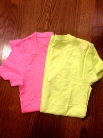 ~ Bright coloured shirts that scream summer ~
