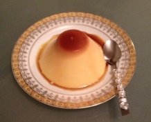 ~ Delicious Creme Caramel a signature dish at my sisters house ~
