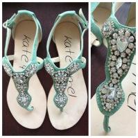 ~ Summer essential embellished sandal. ~