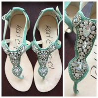 ~ Summer essential embellished sandal. ~