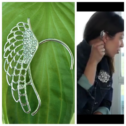 Ear cuff that I wore on Beauty - Fashion - Food video.