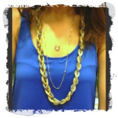 ~ Favorite Trend: Layering dainty and chunky necklaces ~