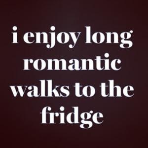 ~ Ramadan Romance with the fridge lol ~