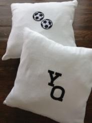 ~ Custom made cushions for my adorable nephew ~