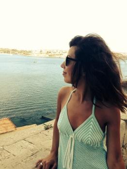 ~ Enjoying the beautiful scenery in Valletta Malta ~