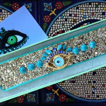 ~ Stunning Cuff from my the lovely Greeneyerocks that I cant wait to wear ~!