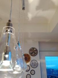 ~ New light fixture ~