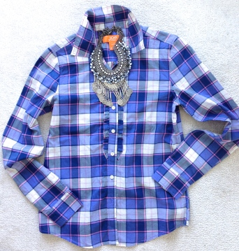 ~ Fall biggest trend a plaid shirt ~