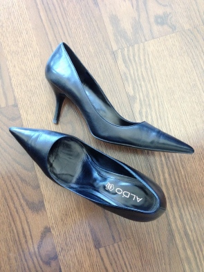 ~ Every women should have a pair of kitten heels in her closet and preferably in Black ~