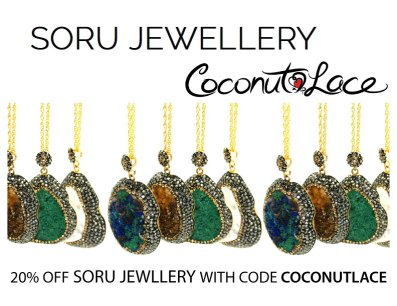 ~ 20% with SORU Jewellery ~