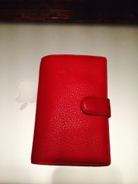 ~ New Walet in a vibrant red ~
