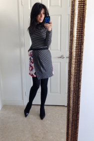 ~ Look from earlier this week in my Peter Pilotto skirt ~
