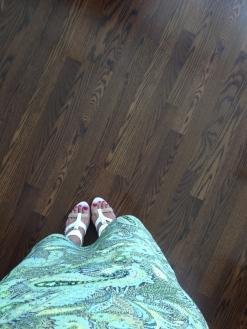 ~ White sandals are summer staple ~