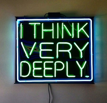 ~ I Think Deeply ~