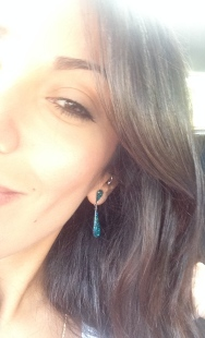 ~ Vintage earrings courtesy of mom ~