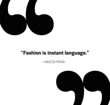 ~ Fashion is Instant Language ~