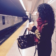 ~ waiting for the subway ~