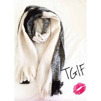 ~ New in: Oversized blanket scarf ~