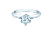 Get it at Yorkdale: Tiffany & Co., The Tiffany Setting, starting at $13,400