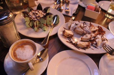~ Divine dessert (with an even more divine dinner) with wonderful friends in NYC Thank You Yola, Diana, Randa, Amani.