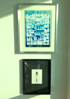~ Finally framed and hung ~